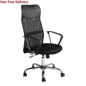 Furniturer Home Office Desk Chair Ergonomic Computer Mesh Adjustable