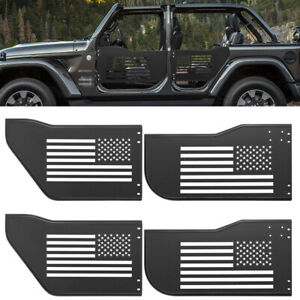 Safari Steel Tube Tubular Doors Frame Panel Off Road For Jeep Wrangler Jk 4 Door