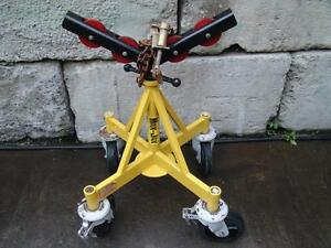 Sumner 781400 Roller Pipe Stand 2 500 Lb Capacity