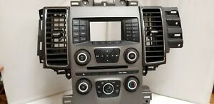 2014 2015 2016 2017 Ford Taurus Factory Used Radio Climate Control Bezel 1278