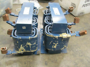 Lot Of 2 General Electric Reactors 37g13003 3 phase 600v 130a 50 60hz Used