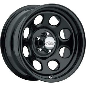 15 Inch 15x8 Pacer 297b Soft 8 Gloss Black Wheel Rim 6x4 5 6x114 3 12