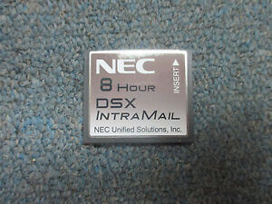 Nec Dsx 40 80 160 1091011 V1 3 Intramail 4 Port 8 Hour Flash Voice Mail System