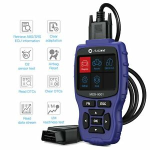 One Push Start For Honda Acura Obd2 Diagnostic Tool Scanner Abs Srs Airbag Tpms