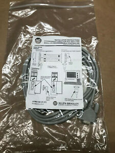 New Allen Bradley Programming Cable 1747 cp3 Series A Rs 232 Slc 500 5 03 5 04