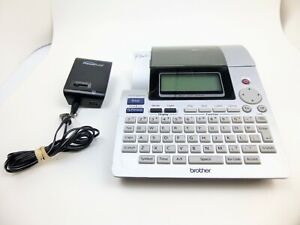 Brother P touch Pt 2700 Thermal Label Printer With Ac Adapter Tested