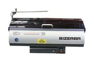 2014 Bizerba B100 Commercial Automatic Countertop Bread Slicer 120v