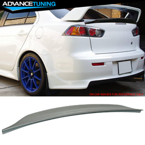 Fits 08 17 Lancer Evo X10 Mr Duckbill Trunk Spoiler Painted Havanna Metallic