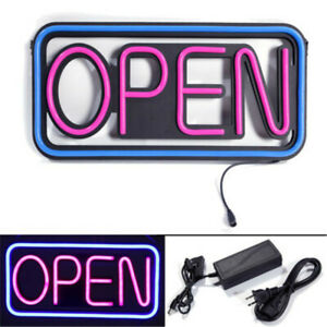 Business Sign Hang Waterproof Open Led Spectacular Store Signs Outdoor Led