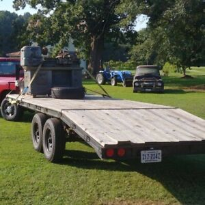 20 Foot Gooseneck Trailer 14k Custom Build