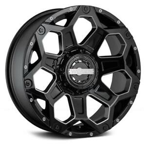 4 20x9 Black Worx Clash 812bm 8x6 5 18 Nitto Terra Grappler G2 305x50r20 Rims