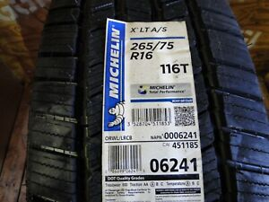 New 265 75r16 116t Tl X Lt A S Orwl Michelin Highway All Season