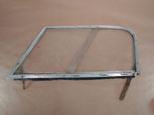 Austin Healey 100 6 3000 Coupe Original Left Lh Side Window Curtain Frame Oem
