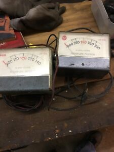 Rca Wv 120b 503 A Power line Monitor Lot Of Two