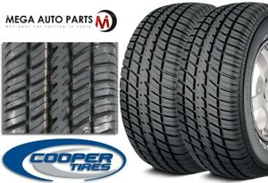 2 New Cooper Cobra Radial G t P275 60r15 107t Rwl All Season Performance Tires