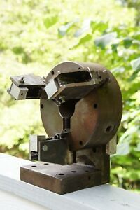Euc Vintage Pre bison Poland Putr 8z No 726 Hardened Scroll 3 jaw Lathe Chuck