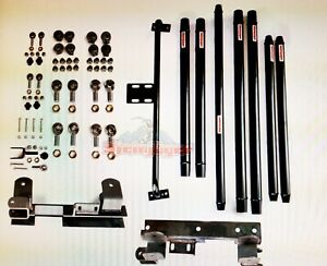 Jeep Wrangler Tj Long Arm Travel Kit 1997 2006 Dom Tubing For Lifts 2 To 6 In