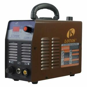 Lotos Lt3500 35amp Air Plasma Cutter 2 5 Inch Clean Cut 110v 120v Input With P