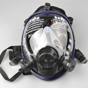 Us Update 6800 Full Face Gas Mask For Painting Spraying Dustproof Respirator