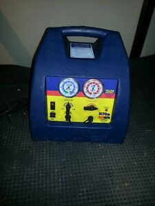 Ritchie Yellow Jacket Hvac R70a Automatic Oil Less Refrigerant Recovery Unit