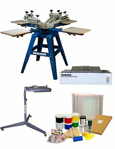 Screen Printing Starter Kit Home Business diy T shirt Printing package