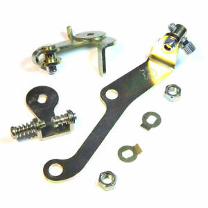 Throttle Lever Linkage Kit With Cable Holder Dual Weber 40 45 Dcoe Carburetor
