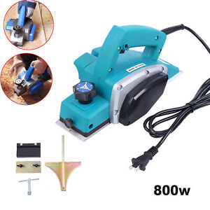 Powerful Electric Wood Planer Door Plane Hand Held Woodworking Power Surface