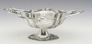 English Sterling Silver Bowl With Art Nouveau And Unger Brothers Similarities