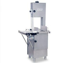 New Butcher Meat Band Saw Heavy Duty 1 1 2 Hp 116 120 V Or 220 Volt 1 Phase