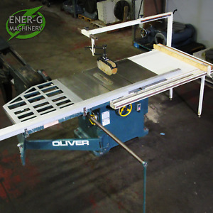 Oliver Tilting Arbor Woodworking Table Saw Model 270 vt Loaded Id S 015