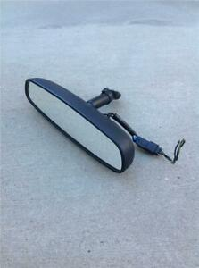 1999 2004 Mustang Convertible Rear View Mirror W map Lights 99 00 01 02 03 04