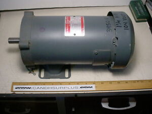 Ge 5bpb56paa43 104 Vdc Motor 1 1 4hp 3450 Rpm Reversible Variable Speed