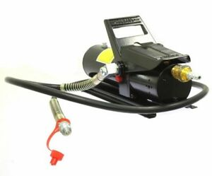 10 000 Psi Porta Power Air Hydraulic Foot Pump Control Lift With 5 Feet Hose
