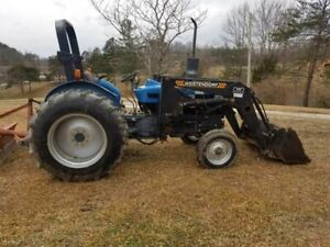 New Holland 3930 Desel Tracto With Westendorf Front End Loader