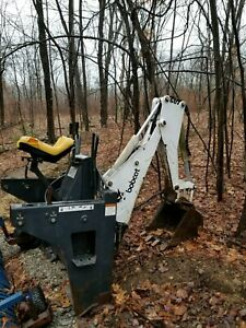 Bobcat 607 Skid Steer Backhoe Attachment Nice Condition