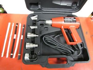 Master Appliance Ph 1400 Lcd Dial in Heat Gun Case And Accessories Included
