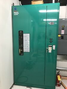 Onan Btc Automatic Transfer Switch 600 Amp 277 480 Btc 4478781 W Bypass