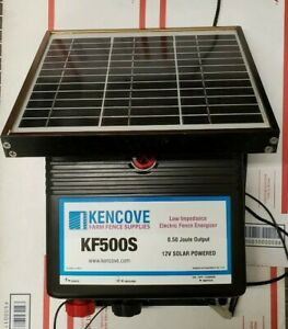 Kencove Kf500s 12v Solar Electric Fence Charger 0 50 Joule Output Tested 15f