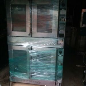 Blodgett Zephaire Commercial Electric Convection Double Stack Oven
