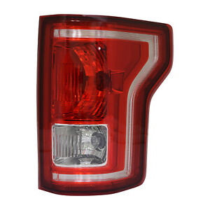 New Premium Fit Passenger Side Tail Light Assembly Fl3z13404a Nsf