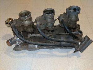 Offenhauser Small Block Chevy Sbc Tri Power 3 Duece Ford Carbs Holley 94