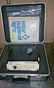 International Light A415 Detector Multiplexer With Padded Case