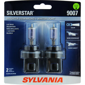 Silverstar Blister Pack Twin Headlight Bulb Fits 1999 2005 Volkswagen Jetta Syl