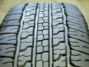 Goodyear Wrangler Fortitude Ht 265 70r17 115t Used Tire 10 11 32 71064