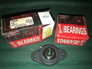 Browning Vf2s 210 Flange Mounted Bearing 5 8 Shaft Size Bore New 2 Pcs
