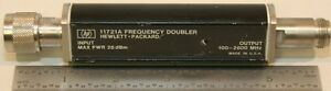 Agilent hp 11721a Frequency Doubler 2 Tested And Working