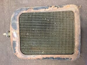 Willy S Overland Radiator Housing Grill Shell Rat Hot Rod Vintage Jalopy