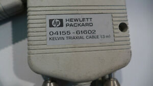 Hp 04155 61602 Kelvin Triaxial Cable
