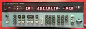 Hp Agilent 8656b 001 2532a02660 Synthesized Signal Generator 0 1 To 990 Mhz