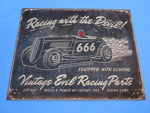 Tin Metal Gasoline Service Station Man Cave Advertising Decor Gas Oil Vintage